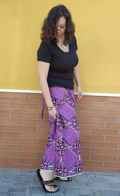 Pantalón Pareo cómo coser tallas grandes la costurera inquieta