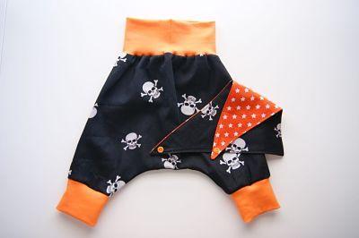 cómo coser un pantalón de bebé