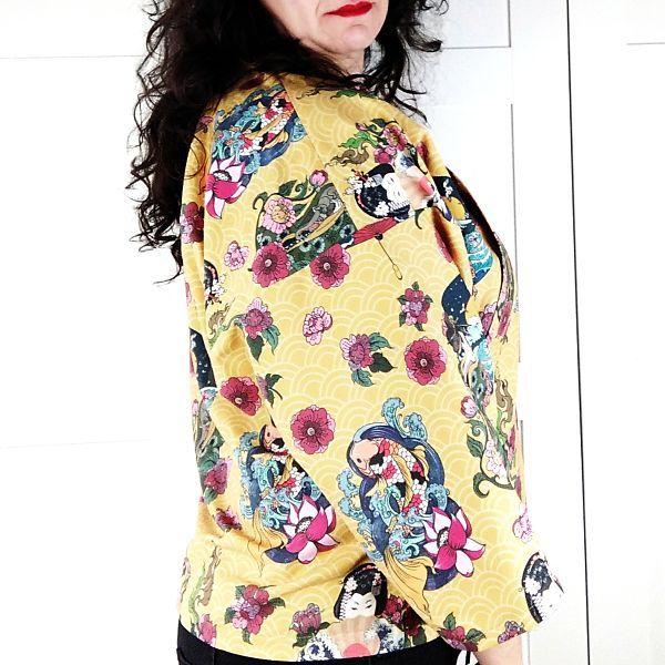 como coser un kimono talla grande la costurera inquieta
