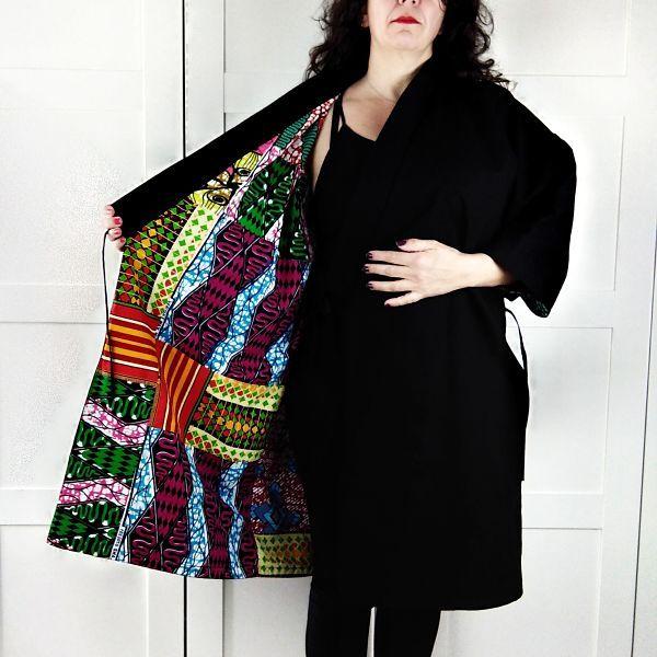 como coser un kimono para mujer talla grande la costurera inquieta