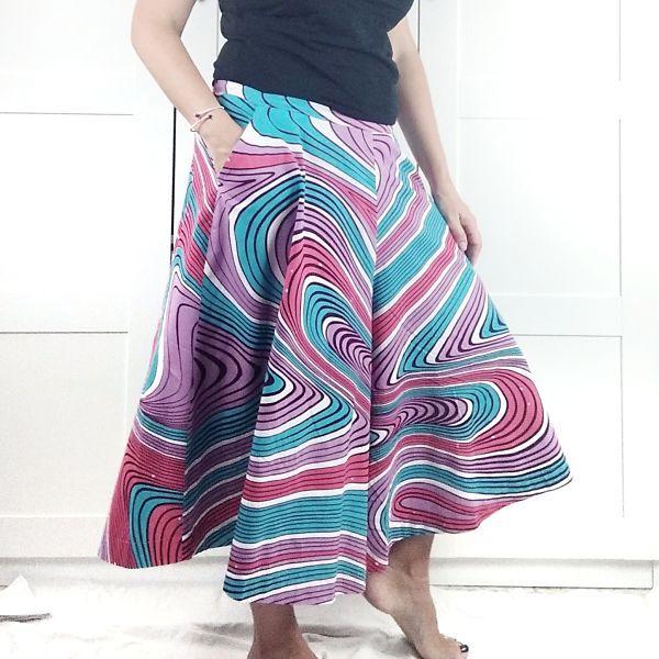como coser un pantalón culotte de mujer de talla grande patrones