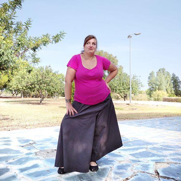 como coser un pantalón culotte paso a paso talla grande la costurera inquieta