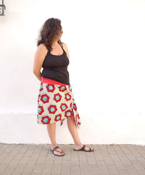 coser falda talla grande paso a paso la costurera inquieta