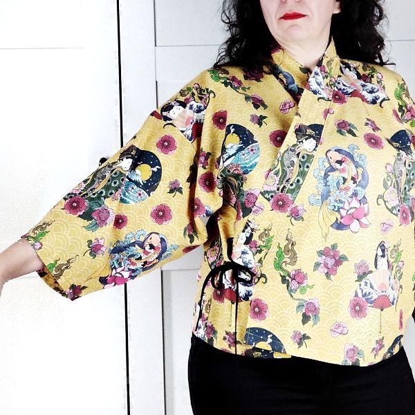 kimono para talla grande la costurera inquieta