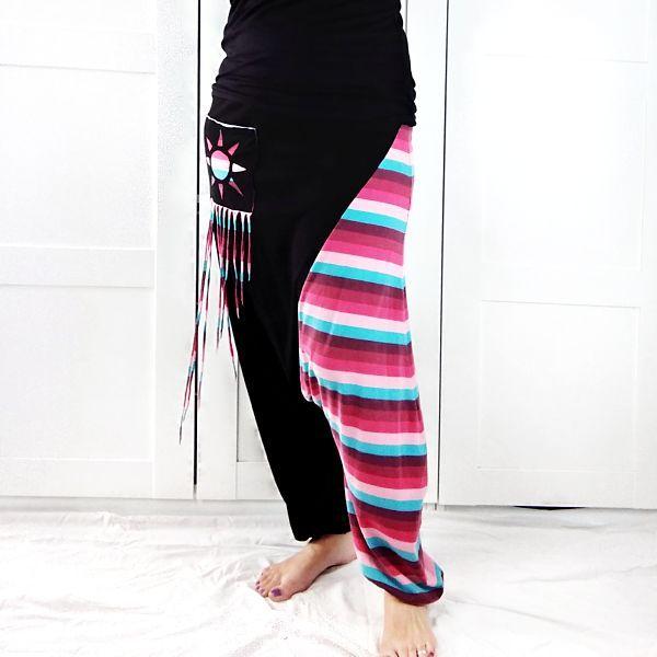 pantalón sarouel de mujer