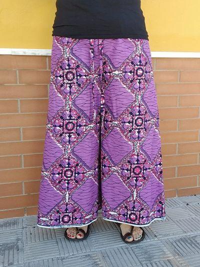 patrón PDF pantalon pareo talla grande la costurera inquieta