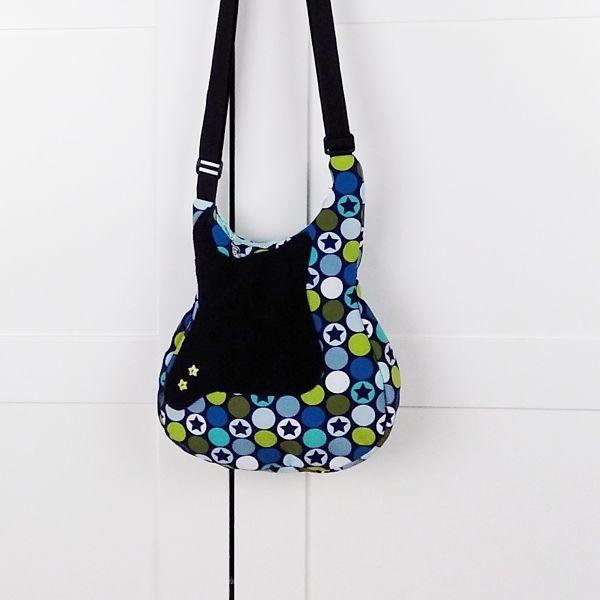 patrón bolso de mujer con forma de guitarra la costurera inquieta