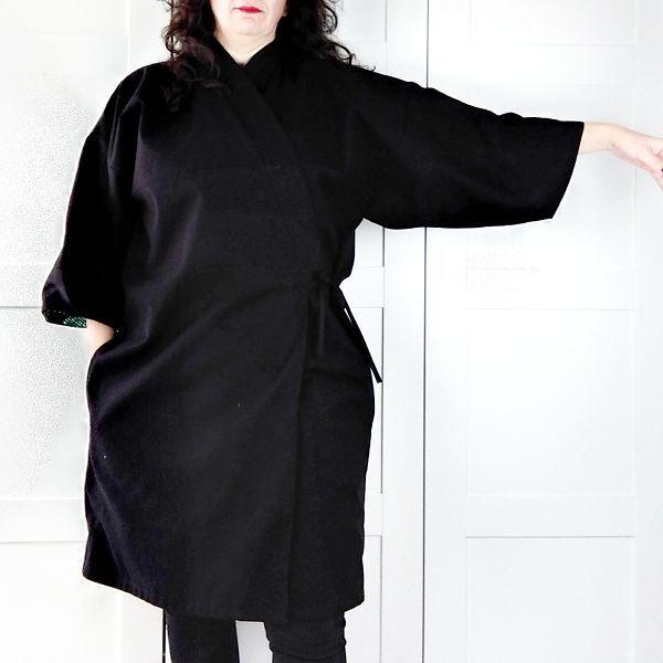 patron de kimono para mujer talla grande la costurera inquieta