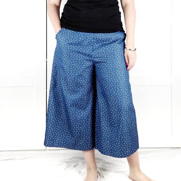 patron de pantalon culotte talla grande la costurera inquieta