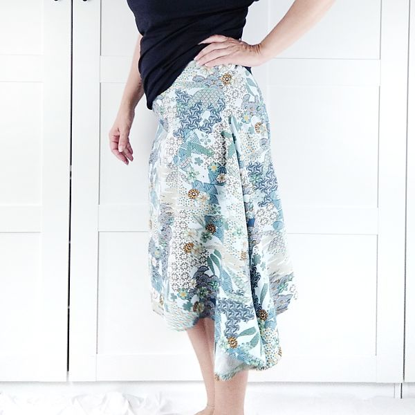 patron falda para talla grande la costurera inquieta