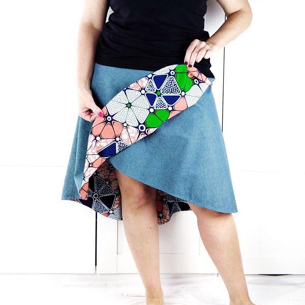 patrones falda talla grande
