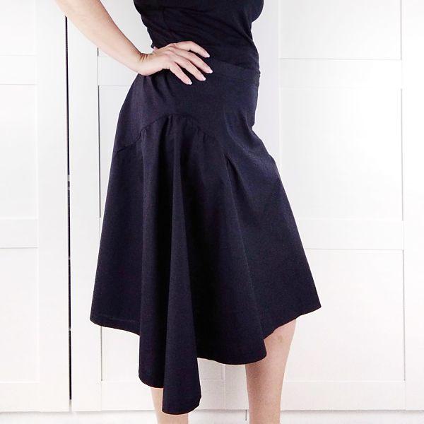 patron falda talla grande la costurera inquieta