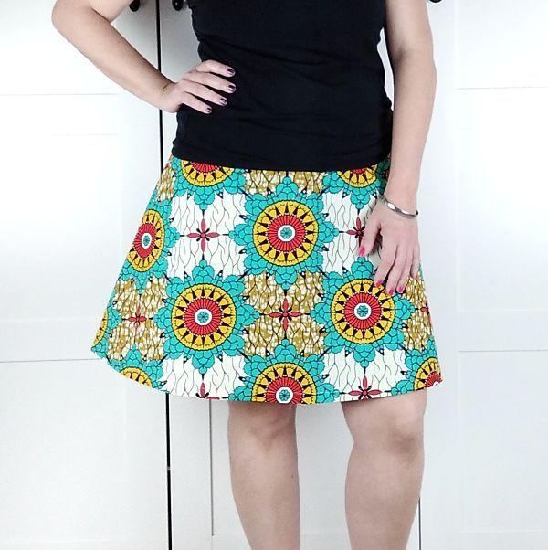 patron falda talla grande para mujer la costurera inquieta