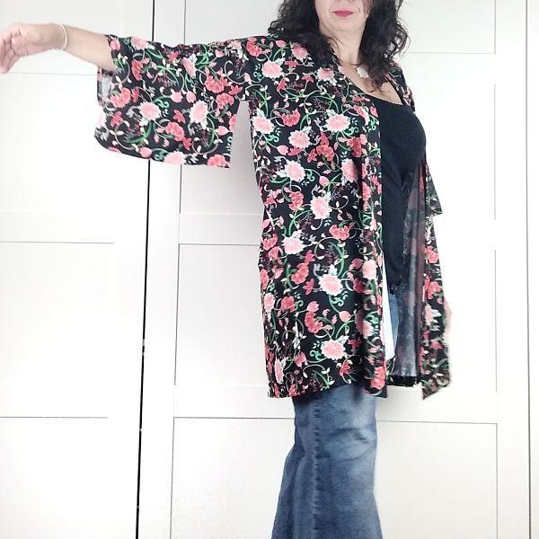 patron kimono largo