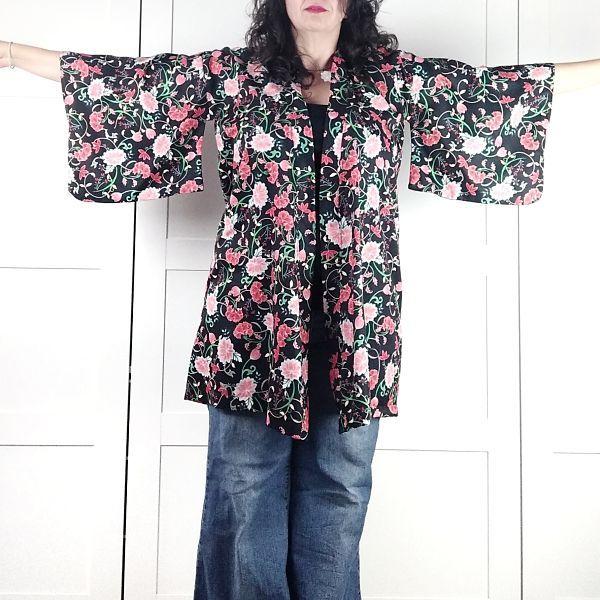 patrón kimono mujer talla grande