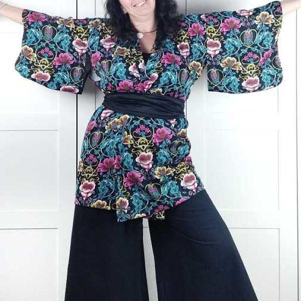 patron kimono mujer