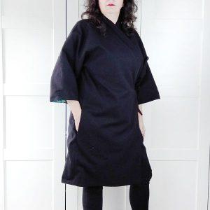 patron kimono talla grande