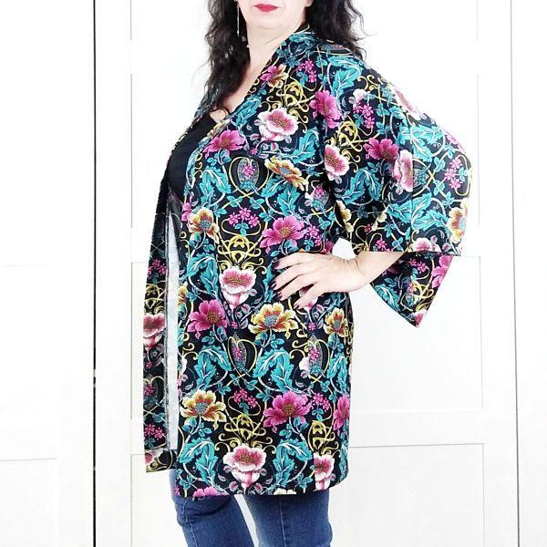patron kimono talla grande para mujer la costurera inquieta