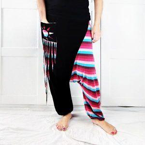 patrón pantalón sarouel talla grande