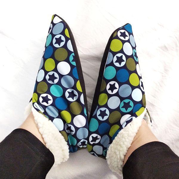 patron zapatillas de mujer