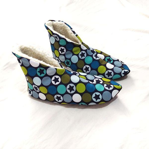 patrón zapatillas duende
