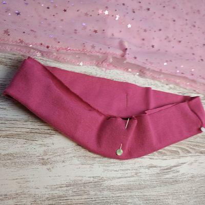 tutorial paso a paso para coser una falda de tul para niña