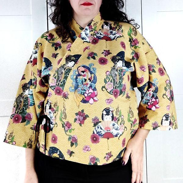 tutorial para kimono talla grande la costurera inquieta